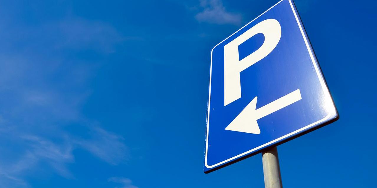 Parkeerbord m.b.t gratis parkeren in Kerkrade